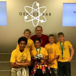 Robotics Team Takes First Place